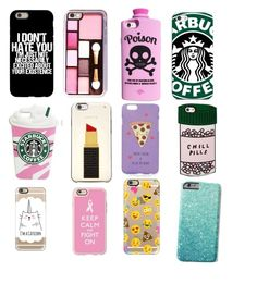 """Cool phone cases"" by dancer123gal on Polyvore featuring Valfré, Samsung, Kate Spade, ASOS, ban.do and Casetify"