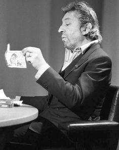 les 10 plus gros scandales du rock - Serge Gainsbourg - Bad Boys Serge Gainsbourg, Gainsbourg Birkin, French Icons, Music Genius, French Collection, Jane Birkin, Music Film, British Actresses, Photo Black