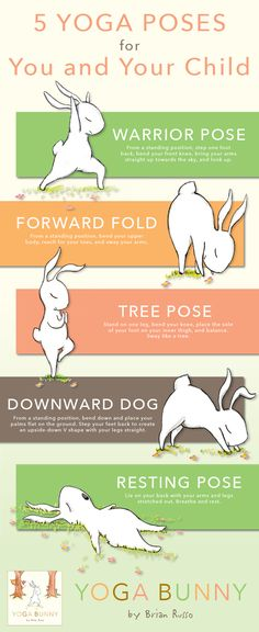 5 Yoga Poses for You and Your Child, inspired by YOGA BUNNY!