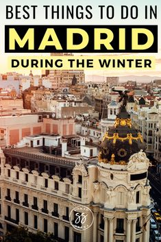 Madrid may be a popular summer destination, but it also offers some unique experiences for those looking for winter travel destinations. Find out about the best things to do in Madrid in the winter, from Christmas markets to bargain shopping Europe Travel Guide, Spain Travel, Travel Guides, Travel Destinations, Mexico Travel, Travel Advice, Beach Trip, Hawaii Beach, Oahu Hawaii