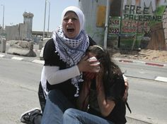 US Woman Emily Henochowicz Loses Eye After Being Hit in Face with Teargas Canister at Qalandiya Protest (June 2010)