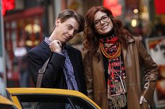 The dynamic musical duo of Christian Borle and Debra Messing. #Smash
