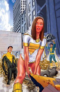 Mary Marvel, Captain Marvel Jr., and Black Adam?