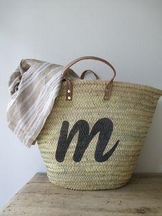 Baskets Ring Organizer, Market Bag, Diy Accessories, My Bags, Bag Making, Ibiza, Fashion Bags, Straw Bag, Wicker