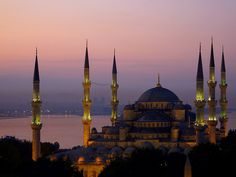 The Sultan Ahmed Mosque (Turkish: Sultanahmet Camii)