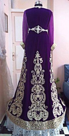 Royal Algerian Caftan - back/ Dar el-yasmine couture
