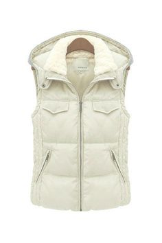 BEST. PUFFER. EVER.  Seriously....click on it to see the back which is a great sweater material.  LOVE!!!!