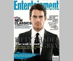 Is Matt Bomer the next Christian Grey?...  For @Katie McGowan...  Ugh!  I guess I'll believe it if I get this in my mail this Friday.  If that's the case I guess I'm kinda in denial. :P