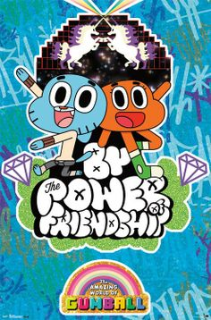 The Amazing World of Gumball Friendship Animated TV Poster