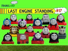 Last Engine Standing #17 - Thomas and Friends Trackmaster Demolition Derby