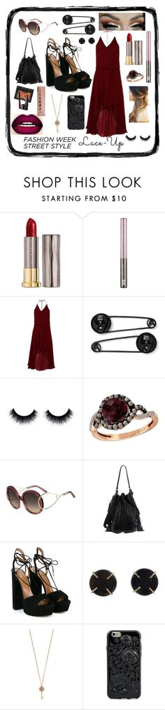 """1978"" by careyjohnson-cj ❤ liked on Polyvore featuring Urban Decay, Haute Hippie, LE VIAN, Loeffler Randall, Aquazzura, Melissa Joy Manning, NARS Cosmetics and Aéropostale"