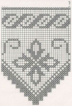 The edging in the photo says it is from a pattern found in Crochet Lace Edging, Crochet Borders, Thread Crochet, Crochet Doilies, Crochet Flowers, Crochet Stitches, Filet Crochet Charts, Crochet Diagram, Funny Cross Stitch Patterns