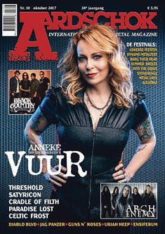 Media Tweets by VUUR (@vuur_band) | Twitter Cradle Of Filth, Metal Magazine, Heaven And Hell, Metal Girl, The Gathering, Celtic, Diva, Goth, Twitter