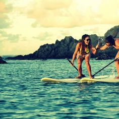 StandUp Paddle Boarding in St.Martin