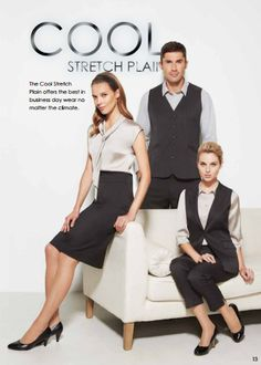 Check out the Como Range Workwear from our supplier www.bizcorporates.com Is all about style in a textured fabric to create fashion with a design balance. Feel the difference!