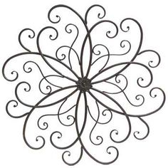 Get Rusty Round Scroll Metal Wall Decor online or find other Wall Art products from HobbyLobby.com