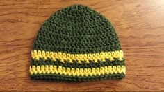 Baby Packers hat