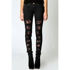 #black ripped #skinny jeans