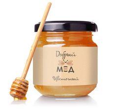 Упаковка для меда и логотип