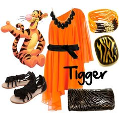 Tigger......with out the necklace it would be better