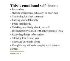 Inner Child Healing, Self Healing, Emotional Awareness, Mental Health Awareness, Mental And Emotional Health, Emotional Healing, Journal Writing Prompts, Mind Body Soul, Psychology Facts