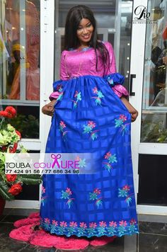 Boubou Best African Dresses, African Print Dresses, African Lace, African Attire, African Wear, African Fashion Dresses, African Women, Ethnic Dress, African Beauty