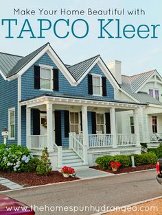 Find out how Tapco Kleer can make your next remodel an excellent one. #HomeDesign #HomeComplement #ad