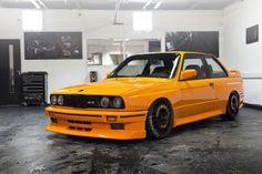 BMW 3 Series E 30 - Yellow Car