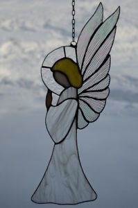 Stained Glass Angel #StainedGlassDrawing