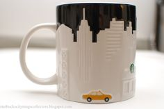 Starbucks City #mug NY