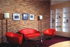 Slate Stone Tiles For Living Room Wall Decorating