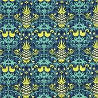 Michael Miller fabric pineapple bird by Patty Young - mylusciouslife.com - Luscious patterns