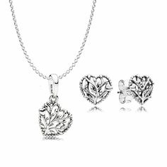 c6e51852b Pandora jewelry unique limited, Pandora Jewelry Promotion - Don't Miss Out:  Upscale Jewelry Flourishing Hearts Necklace and Earring Gift Set.