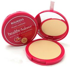 Δώστε στο δέρμα σας λάμψη και υγιή όψη με τηνBourjois Healthy Balance Powder! Η μοναδική πούδρα της Bourjois, είναι εμπλουτισμένη με εκχυλίσματα εξωτικών φρούτων, για να συμβάλλει στην αποκατάσταση και εξισορρόπηση της επιδερμίδας σας.Με yuzu για έλεγχο της λιπαρότητας και sharon fruit γ