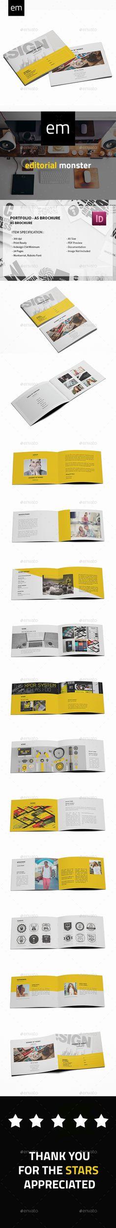 Portfolio - A5 Brochure