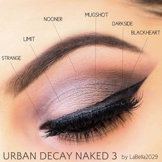 Ideas For Makeup Tutorials : Urban Decay Naked 3 Meilleures idées pour les tutoriels de maquillage: Urban Decay Naked 3 - GlamFashion Kiss Makeup, Prom Makeup, Love Makeup, Simple Makeup, Makeup Inspo, Makeup Tips, Makeup Looks, Hair Makeup, Makeup Ideas