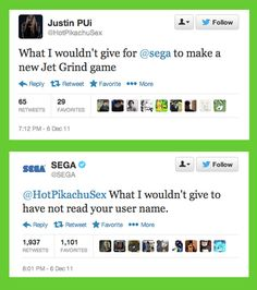 When Sega wished to go back in time. | 14 Times Brands Showed Their Sassy Side On Twitter