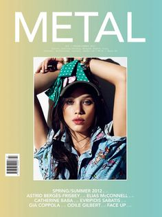 Astrid Berges-Frisbey by Nico for Metal Spring 2012