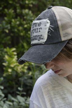 3d6791f021b Love Your Story-Trucker Hat. Summer Hats ...