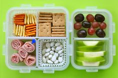 Lots of awesome lunch/snack ideas for kids