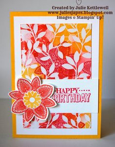 Stampin' Up! UK Order Online 24/7 - Julie Kettlewell: Irresistibly Yours Papers