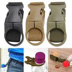 Details about Molle Webbing Backpack Hanger Hook Carabiner Water Bottle Holder Buckle Clip Molle Gear, Edc Gear, Tactical Gear, Tactical Clothing, Backpack Hanger, Molle Attachments, Edc Gadgets, Water Bottle Holders, Survival Skills