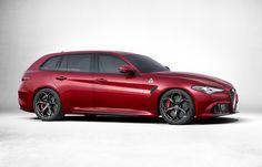 [ECCO COME SARA']: L'Alfa Romeo Giulia Sportwagon | autoamica.net