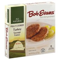 Turkey Sausage Patties nutrition data at Calorie Count 2nd best but better than chicken patties