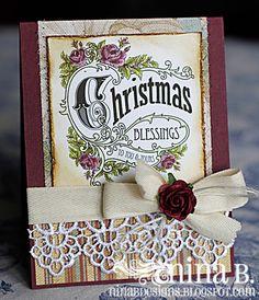 Gorgeous Christmas card