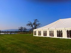 You'd never believe it's England! Summer's not complete without a marquee wedding!  www.abbasmarquees.co.uk