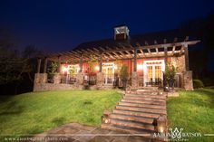 The Inn at Willow Grove Weddings Big Red Barn, Willow Grove, Plantation Homes, Garden Wedding, Indoor Outdoor, Virginia, Places To Go, Pergola, Spa