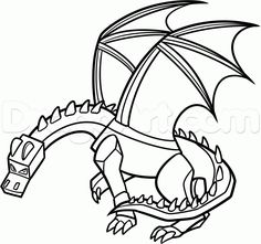 14 best minecraft ender dragon images drawings minecraft designs Mcpe Master how to draw ender dragon step 20 dragon line coloring pages for boys free
