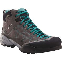 Scarpa Women's Zen Pro Mid GTX Boot (295 CAD) ❤ liked on Polyvore featuring shoes, boots, scarpa boots, scarpa footwear, goretex shoes, scarpa shoes and gore tex boots