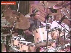Steve Ferrone drums from Brighton Buddy Rich big band - average white band. www.artisticky.co.uk